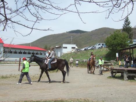 乗馬(たかやまファミリー牧場)